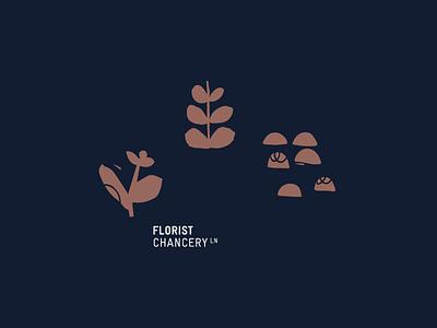 Libertine — Concepts art direction identity branding florist drawn texture flowers