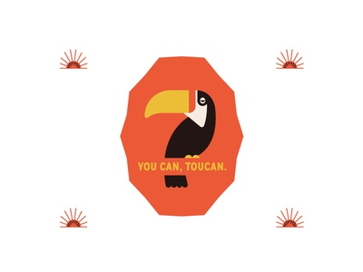 You can, Toucan. toucan illustration