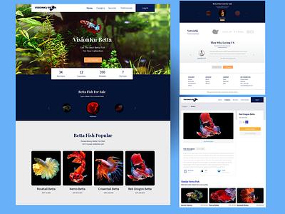VisionKu Betta webdesign uiuxdesign