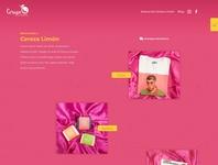 Cerezá Limón ux web design ecommerce