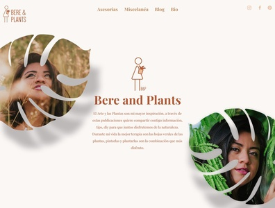 Bere and Plants ux web design ecommerce