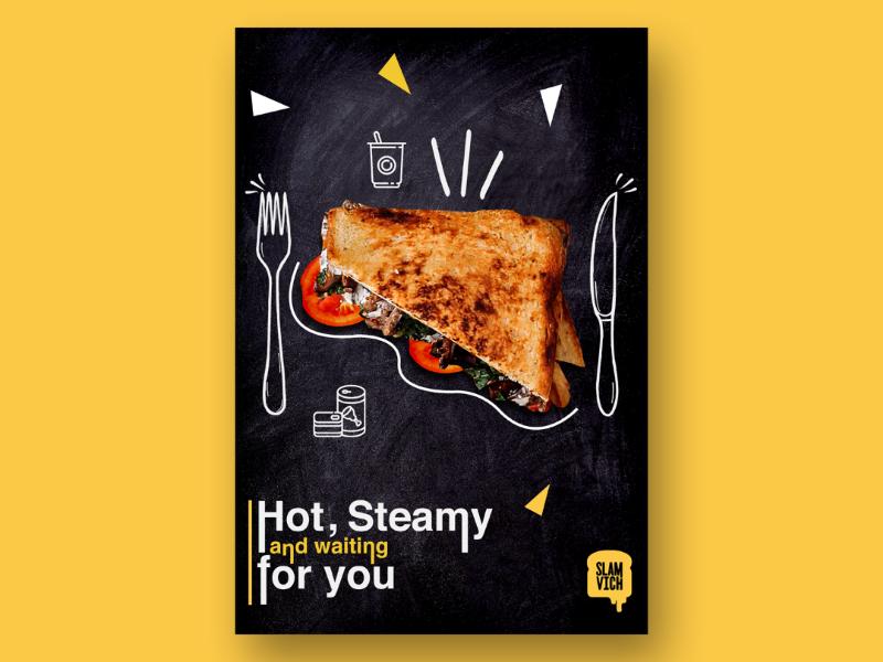 Food Poster graphic design