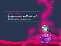 Into the magical world of design!