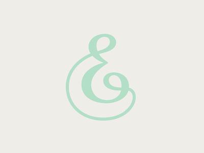 Letter E luxury monogram letter branding design symbol martsvaladze anano logo mark