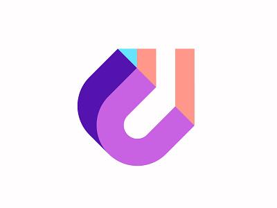 Letter U + Arrow arrow letter u u letter vector branding design symbol martsvaladze anano logo mark