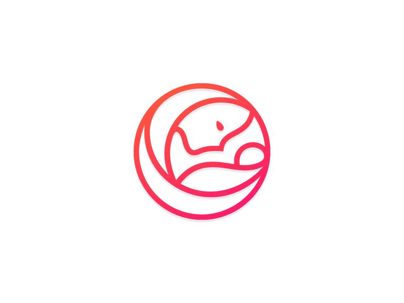 Maternity Symbol by Anano Martsvaladze on Dribbble