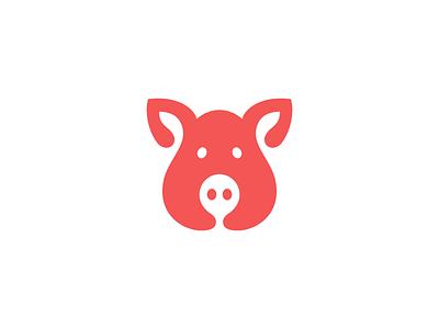 PIG martsvaladze anano space negative symbol logo mark pig