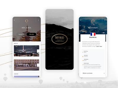More Travel Experience App pekxel app uxdesign uidesign