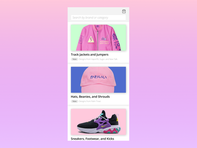 Collection collection dailyui