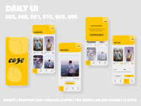 Clothing App // Daily UI Challenge