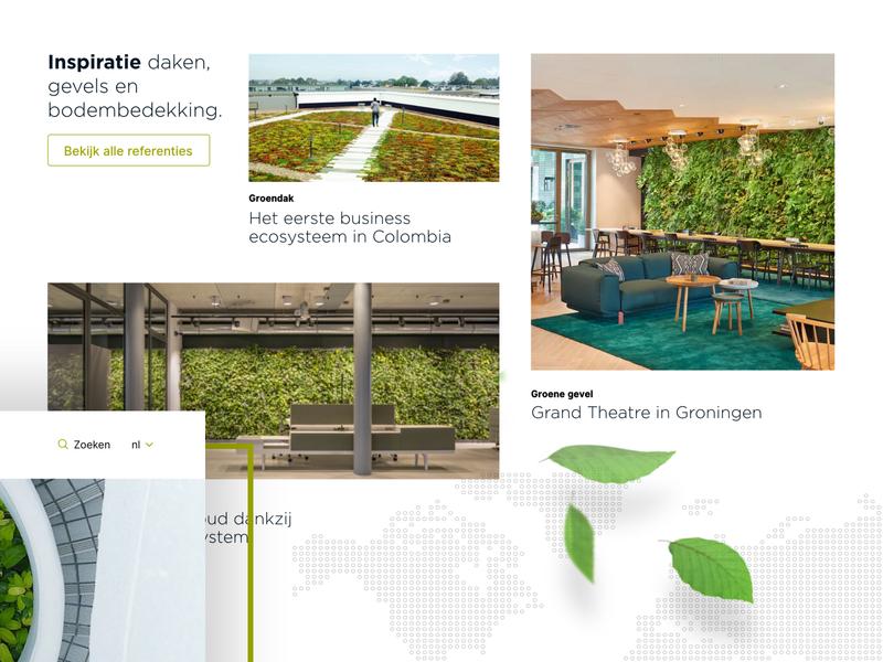 Sempergreen - Concept '19 🌳 branding website interface identity corporate ui minimal inspiration grid design adobexd
