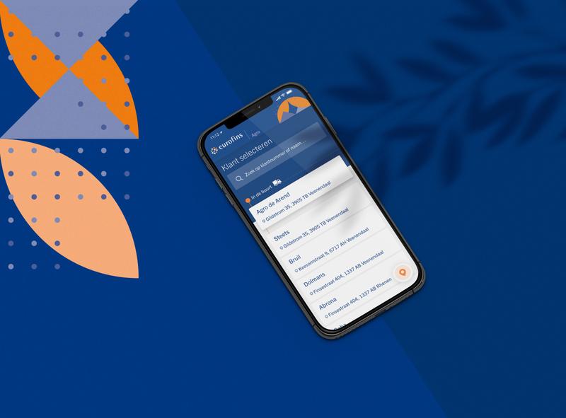 Eurofins App Concept - '19 ui interface identity mobile mobile ui website branding minimal inspiration grid design adobexd