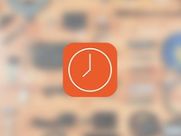 Hours iPhone Icon
