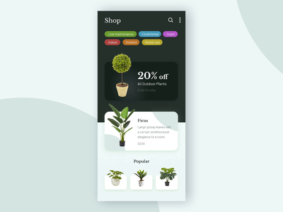 Planted: Mobile App Concept