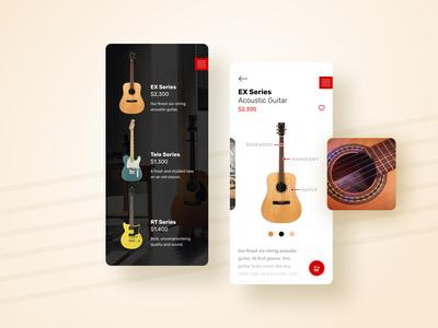 Guitar Store Concept