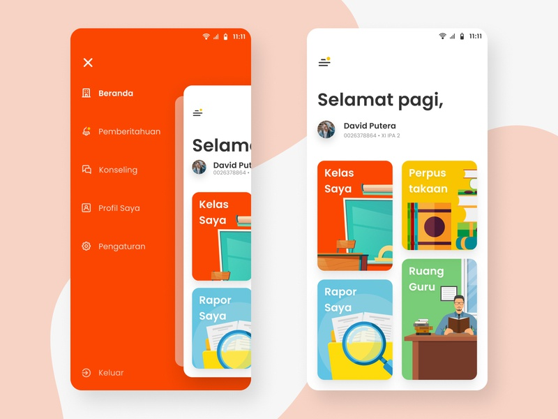 Learn From Home App Part 1 uiux ux ui mobile app design figmadesign ux design mobile design mobile application learn from home app learning app design uiux design ui design pattern ui design inspiration ui design mobile ui design