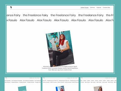Personal Website portfolio site personal website website design user interface design brand design web design user experience website webdesigner