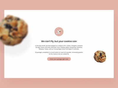 The best brownies and cookies you'll ever have. branding cookies bakery interface webui website design user experience graphic design landing page brand design web design webdesigner user interface design