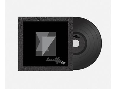 """""""half fix"""" band  logo design vector logo logo design illustration minimal design minimal design corporate design branding design branding"""