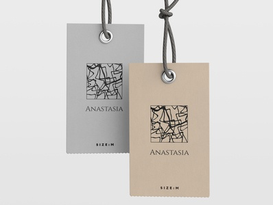 """""""Anastasia"""" brand logo design vector logo logo design illustration minimal design minimal design corporate design branding design branding"""