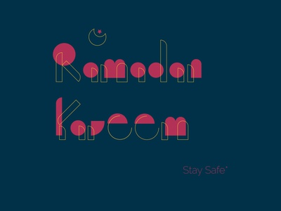 Ramadam kareem typography vector logo illustration logo design corporate design minimal design minimal design branding design branding