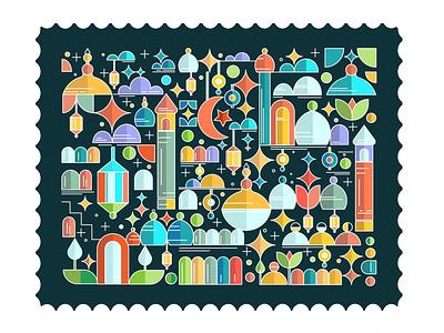 Eid Mubarak eid21 illustration logo design corporate design minimal design minimal design branding design branding