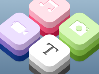 Concepts for Apple's Developer Kit Icons