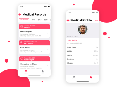Medical Records Concept App