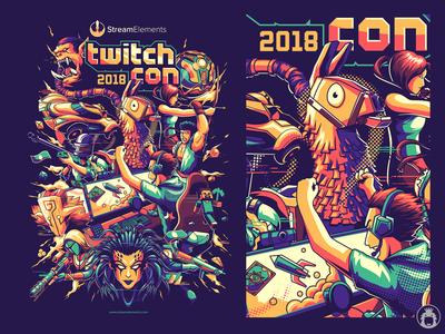 Stream Elements twitch con 2018