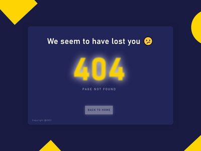 Error 404 Page figma ux ui interactive design adobexd error 404 product design