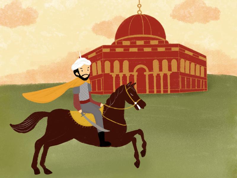 Al Aqsa digitalarts digitalpainting peoject books artworks illustrator illustration