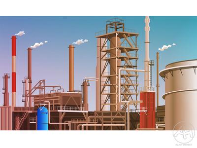 decor raffinerie