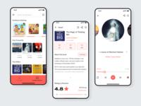 Audiobook App UI Kit