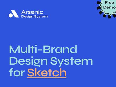 Arsenic Design System xd figma sketch design arsenic ux brand system branding design system