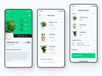 Checkout Flow - Gardening UI