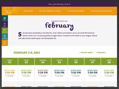 Events Calendar calendar
