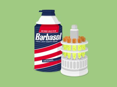 Jurassic Park Barbasol can