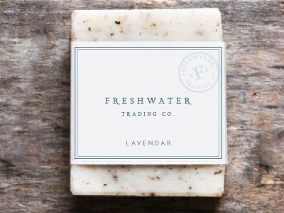Soap Wrap erin waineo bar soap soap michigan freshwater logo wrap packaging
