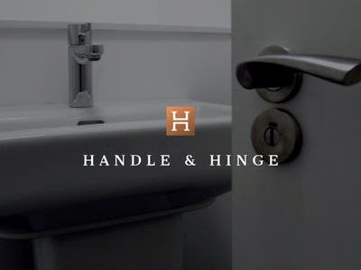 Handle & Hinge Logo Design