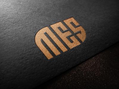 MES bank consultant finance america mark general sale monogrampixel monogram monogramlogo ui vector illustration logo design logodesign corporatedesign company company logo branding