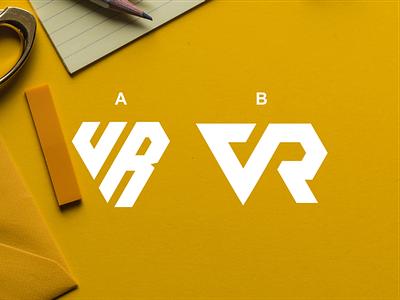 VR general artist vector dubai america bank consulting finance sale brand identity monogrampixel monogramlogo logotype graphicdesign design logodesign corporatedesign company logo company branding