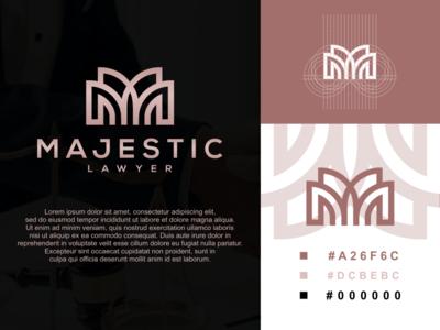 MAJESTICLAWYER awesome sale america realestate clothing lawyer law branding agency branding design logotype monogrampixel monogramlogo graphicdesign logo design logodesign company branding corporatedesign company logo