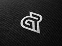 GR general design label clothing finance vektor skull dubai america logo branding logodesign brandidentity illustration company monogrampixel company logo monogramlogo graphicdesign corporatedesign