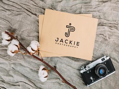 JACKIE PHOTOGRAPHY motion graphics graphic design 3d animation ui illustration design monogramlogo logo company logodesign branding corporatedesign company logo monogrampixel