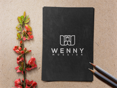 WENNY MOSSION illustration design monogramlogo company logo motion graphics graphic design 3d animation ui logodesign branding corporatedesign company logo monogrampixel