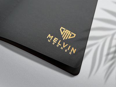 MERLIN WERNER monogrampixel illustration design monogramlogo logo motion graphics graphic design 3d animation ui company logodesign branding corporatedesign company logo