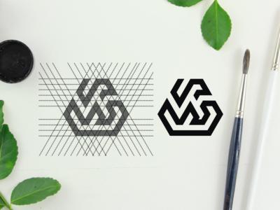 SW dubai constructions finance branding design awesome general sale grid logo monogrampixel monogramlogo brandidentity graphicdesign logotype logodesign design corporatedesign company logo company branding