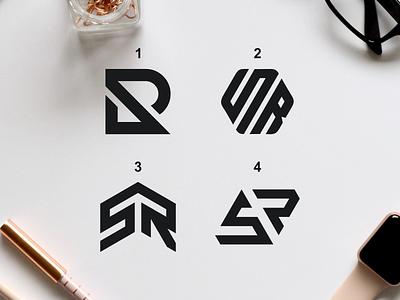 SR monochrome monogram sale flatlogo general logodesigner monogrampxel graphicdesign logotype qatar logo design logodesign corporatedesign company logo company branding