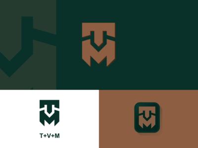 TVM monogram america realestate constructions finance general mark sale monogrampixel monogramlogo brandidentity graphicdesign logotype logo design logodesign corporatedesign company logo company branding