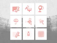 """Иконки для приложения """"Старатели"""""""